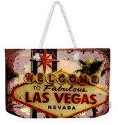 Vegas Destructed Weekender Tote Bag
