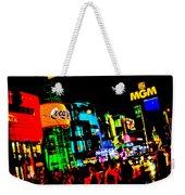 Vegas Lights Weekender Tote Bag
