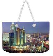 Vegas Skyline Weekender Tote Bag