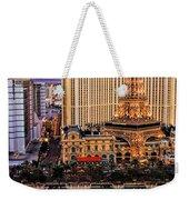 Vegas Water Show Weekender Tote Bag