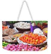 Vegetable Vendor - Omkareshwar India Weekender Tote Bag