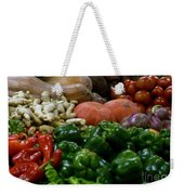 Vegetables In Chinese Market Weekender Tote Bag
