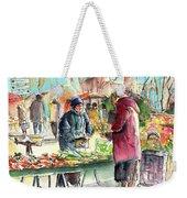 Vegetables Seller In A Provence Market Weekender Tote Bag