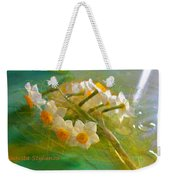 Veil On  Narcissus Weekender Tote Bag