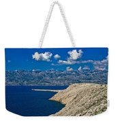 Velebit Mountain From Island Of Pag Weekender Tote Bag