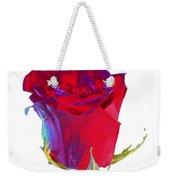 Velvet Rose Bud 2 Weekender Tote Bag