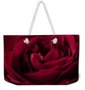 Velvet Rose Mirrored Edge Weekender Tote Bag