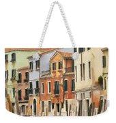 Venetian Apartments Impasto Weekender Tote Bag