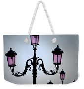 Venetian Lamps Weekender Tote Bag by Dave Bowman
