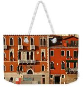 Venetian Red Weekender Tote Bag