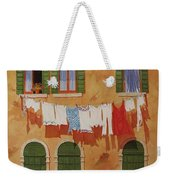 Venetian Washday Weekender Tote Bag