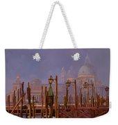Venezia E La Nebbia Weekender Tote Bag