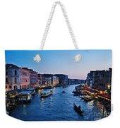 Venezia - Il Gran Canale Weekender Tote Bag