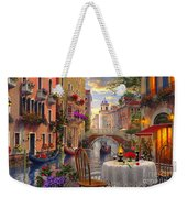 Venice Al Fresco Weekender Tote Bag by Dominic Davison