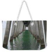 Venice Beach Pier Structure Weekender Tote Bag