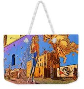 Venice Beach Posterized Weekender Tote Bag