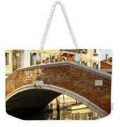 Venice Bridge Weekender Tote Bag
