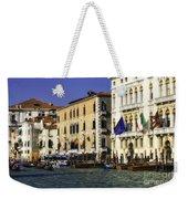 Venice Buildings Weekender Tote Bag