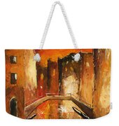 Venice By Night 07 Weekender Tote Bag