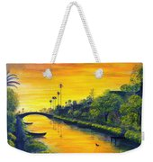 Venice California Canal Weekender Tote Bag