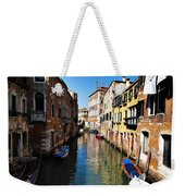 Venice Canal Weekender Tote Bag by Bill Cannon