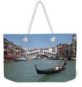 Venice Gondolier Weekender Tote Bag