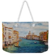 Venice In The Afternoon Weekender Tote Bag