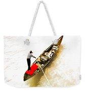 Venice Italy Gondola Weekender Tote Bag