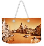 Venice Italy Grand Canal Weekender Tote Bag