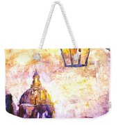 Venice Italy Watercolor Painting On Yupo Synthetic Paper Weekender Tote Bag