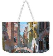 Venice Italy Weekender Tote Bag