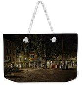 Venice Square At Night Weekender Tote Bag
