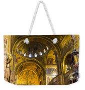 Venice - St Marks Basilica Interior Weekender Tote Bag