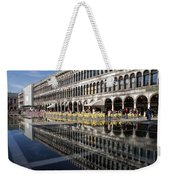 Venice Italy - St Mark's Square Symmetry Weekender Tote Bag