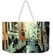 Venice Street Scene Weekender Tote Bag