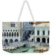 Venice's Bridge Of Sighs Weekender Tote Bag