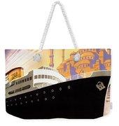 Venise Vintage Travel Poster Weekender Tote Bag
