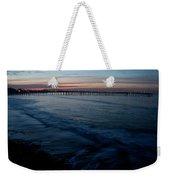 Ventura Pier Sunrise Weekender Tote Bag by John Daly