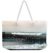 Ventura Storm Pier Weekender Tote Bag