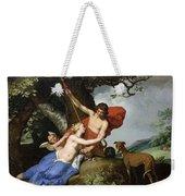 Venus And Adonis Weekender Tote Bag