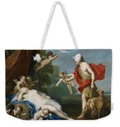 Venus And Adonis Weekender Tote Bag