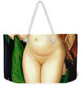 Venus And Amor Weekender Tote Bag