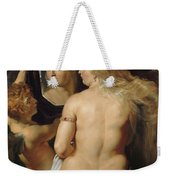 Venus In A Mirror Weekender Tote Bag