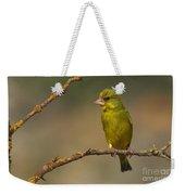 Greenfinch Weekender Tote Bag