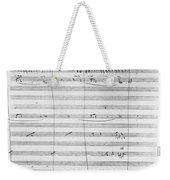 Verdi Rigoletto, 1850 Weekender Tote Bag