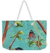 Verdigris Songbirds 1 Weekender Tote Bag