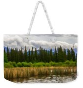 Vermilion Lakes Weekender Tote Bag
