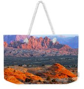 Vermillion Cliffs At Sunrise Weekender Tote Bag