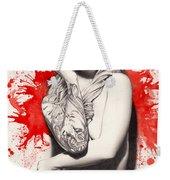 Vermillion Weekender Tote Bag by Pete Tapang