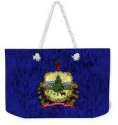 Vermont Flag Weekender Tote Bag